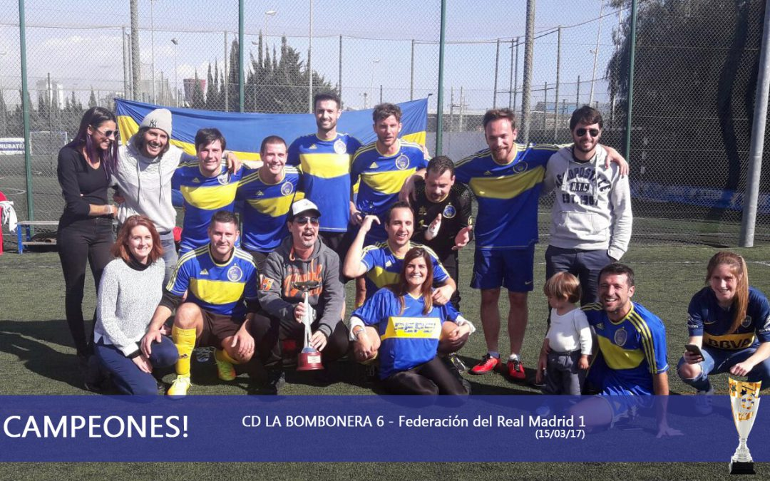 ¡CAMPEONES Copa intercontinental BCN 2017!