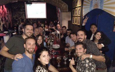 Cena de La Bombonera de Barcelona en La República