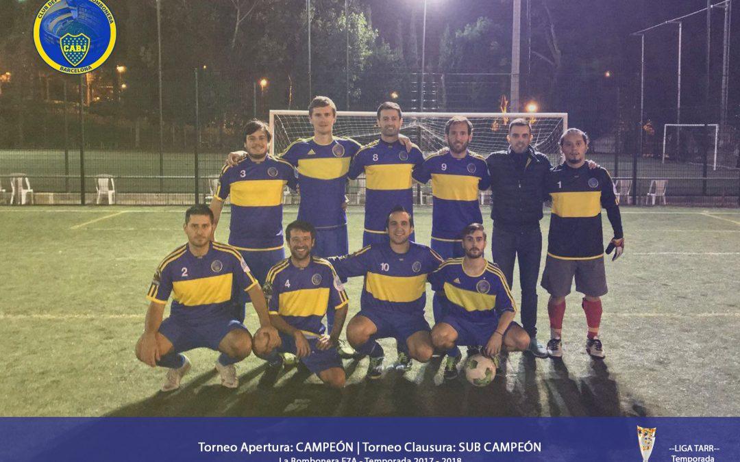 La Bombonera F7A – Campeón | Temporada 2017 – 2018