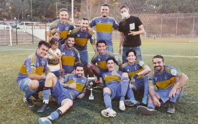 Bombonera campeon 2020/2021 en Pandemia